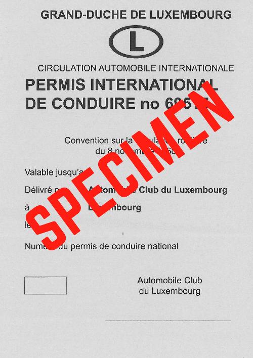 Permis de conduire moto luxembourg