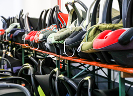 Sale of second-hand children's seats