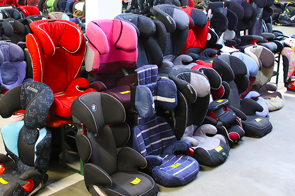 Second-hand child seat sale cancelled