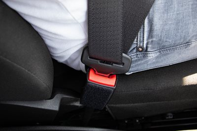 Before getting started - Safety Belt