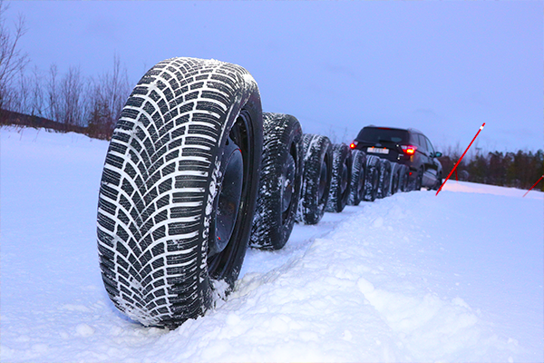 Winter tyre testing: only 6
