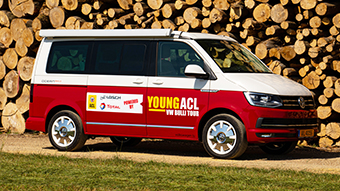 Exploring Europe with the Young ACL VW Bulli Tour